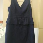 Фирменное дорогое гипюровое платье Oasis на наши 50-52-54р идеальное состояние, замеры в лоте