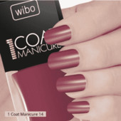 Лак для ногтей Wibo 1 Coat Manicure тон 14