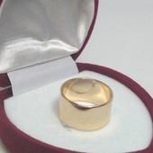 Кольцо классическое обручальное, ювелирный сплав, 17 р