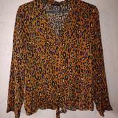 леопардовая блузка 16рр