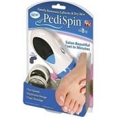 Электрическая пемза, скребок для пяток набор для педикюра Pedi Spin Pro
