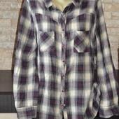 Фланелева рубашка 52 розмір