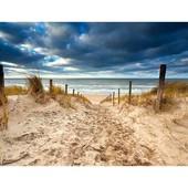 """Алмазная вышивка """"Дорога на пляж"""". Полная выкладка"""