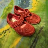 Кожаные туфли Clarks р.22