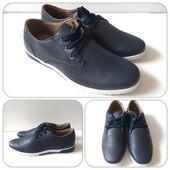 Стильные и легкие мужские туфли весна-осень! Размеры от 40,41,42,43,44,