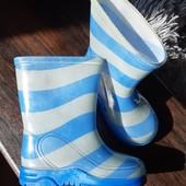 Резиновые сапожки, стелька 13,5 см