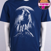 Мужская футболка Волк размеры М-XL