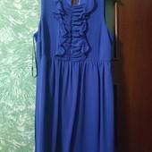 Платье цвет электрик р16