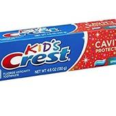 Дитяча зубна паста Crest Kid's cavity protection sparkle fun 130г. Детская зубная паста Крест