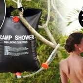 Camp Shower - переносной душ для кемпинга 20 л. Удобно брать с собой на природу, дачу, поход!