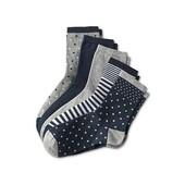 ☘ Лот 5 пар☘ Якісні бавовняні шкарпетки від tcm Tchibo (Німеччина), розміри: 39-42