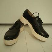 Туфли на тракторной подошве(собирайте лоты в одну посылку)
