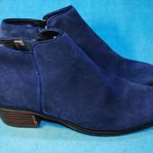 замшавые ботинки 37 размер 1