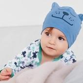 ☘ Яскрава шапочка, біо-бавовна, Tchibo (Німеччина), розмір: one size пог 19 см