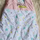 Теплый спальник на синтепоне р-р 90 Disney