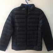 ☘ 1 шт☘ Базова стьобана куртка від Blue Motion (Німеччина), розмір наш: 42-44 (S 36/38 євро), чорний