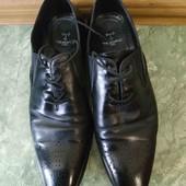 распродажа!!!! кожаные туфли р 42, стелька 28см