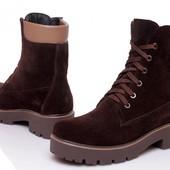 Зимняя распродажа! Ботинки натуральная кожа и мех