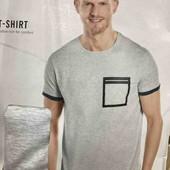 livergy.классная хлопковая футболка с принтом L52/54 замеры