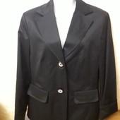 Пиджак черный, размер 40