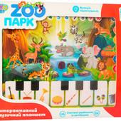 Детский музыкальный планшет «Зоопарк» Limo Toy | Дитячий розвиваючий музичний планшет