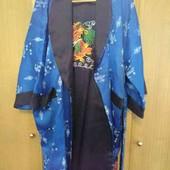 Двухсторонний халат - кимоно