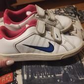 ♥️Кожаные кроссовки Nike, стелька 20,5 см♥️
