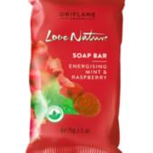 Мыло с малиной и мятой Love Nature 32604