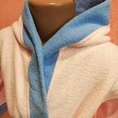 Брендовий теплий м'якенький халат у відмінному стані Зріст 110/116 дивіться заміри