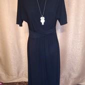 Классное платье с ассиметричным низом 8/36 размера.