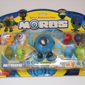 Игровой набор боевые головы трансформеры Morbs