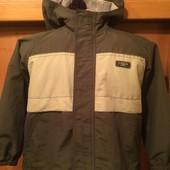 Куртка, термо ветровка, 6 лет 116 см. Logg sport. состояние отличное