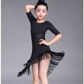 Платье для бальных  танцев 130 рост