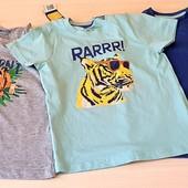 Яскравий набор із 3шт футболок, розмір 98_104, бренд lupilu Геpманія