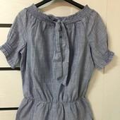 ☘ Лот 1 шт ☘ Блуза з чистої бавовни від s.oliver (Німеччина), розмір 36 євро