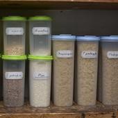 Набор контейнеров для сыпучих продуктов 1,3л! В лоте 3 контейнера!!