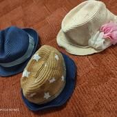 Шляпки панамки