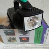 Набір інструменту 24 предмети в пластиковому боксі з вбудованим ліхтарем