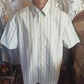Стильна чоловіча сорочка / шведка / теніска у полоску thomas nash by debenhams