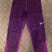 Капри лосины леггинсы для фитнеса спорта Nike