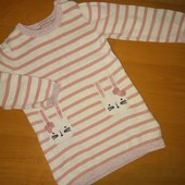 Платье для девочки, тонкой вязки.На 1,5-2года,на рост 92