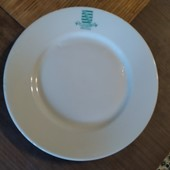 Старая немецкая тарелка