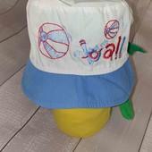 Хлопковые панамки кепка от Klimani на 2-3года ОГ 50 Лот 1шт
