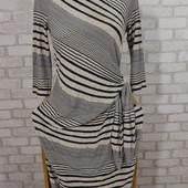 Платье трикотаж полоска 46-48