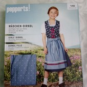 Pepperts Германия Шикарного качества национальный костюм 140р