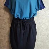 Собираем лоты!!! Комплект юбка на резинке +футболка, размер L