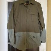 Стильная модная рубашка , цвет хаки Reserved