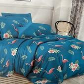 Полуторный бязевый постельный комплект. 80% хлопок, 20% полиэстер. Много расцветок