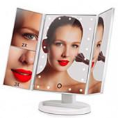 Зеркало для макияжа с лед-подсветкой + Подарок