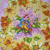 Бабочки,птички,.цветы! Набор из 3-х вафельных полотенец.100% хлопок.